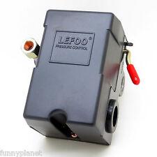Air Compressor Pressure Switch Lefoo LF10-4H 85/115 PSI 4 ports MIN 35 MAX 150