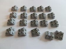 Lego 44728# 20x Winkel Konverterplatte 1x2/2x2 grau neu hellgrau 8088 7261 7961