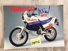 Aprilia Tuareg Wind 125 prospectus moto brochure dépliant publicité