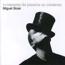 Miguel Bos, Miguel B - Once Maneras de Ponerse Un Sombrero [New CD]