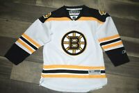 Vintage Boston Bruins Reebok Hockey Jersey YOUTH L XL nhl sweater sewn