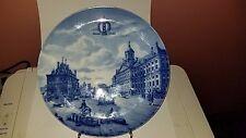 Blue Delph Ltd Ed Collector Plate #223 Focke & Meltzer Anno 1743 Amsterdam