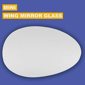 Right Hand Drivers Side BMW Mini R50 R52 R53 2001-2006 Convex Wing Mirror Glass