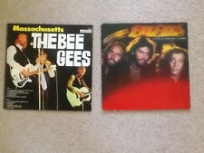 Bee Gees - Massachusetts & Spirits Having Flown Vinyl LP Albums Records EX /EX