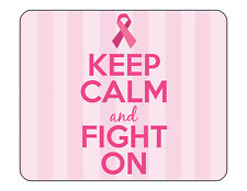 "9""x7"" MOUSE PAD - Breast Cancer Awareness 7 Find Cure Pink Women Tatas Survivor"
