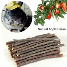100g Wood Pet Chew Sticks Twigs for Small Pets Rabbit Hamster Guinea Pig Toy