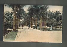 Mint Netherlands Indies Sabang Real Picture postcard Orange park