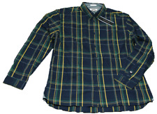 Tommy Hilfiger Jeans Hemd TJ Indioo CHK langarm blauBaumwolle Herren XL 2XL