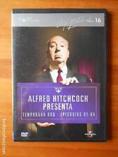 DVD ALFRED HITCHCOCK PRESENTA - TEMPORADA DOS - EPISODIOS 61-64 - CAJA SLIM (P5)