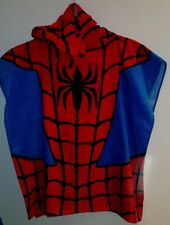MARVEL PONCHO/TOWEL  Boys - ULTIMATE SPIDER-MAN 100% Cotton ONE SIZE KIDS GIFT
