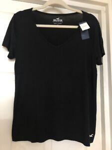BNWT Hollister Black T-Shirt Size M / 10