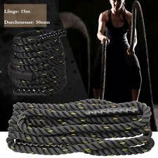 Φ 50mm x 15m Battle Rope Training Fitness Rope Schlagseil Schlangenseil GL-08