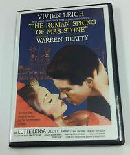 The Roman Spring of Mrs.Stone (DVD,2006) Warren Beatty, Vivien Leigh,Lotta Lenya