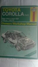 Haynes Manual Toyota Corolla (fwd) Sept 1983 to 1984 1295cc Saloon and Liftback