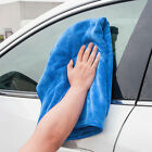 Blue Soft Microfiber Absorbent Towel Anti-scratch Wipe Dry Cleaner Cloth