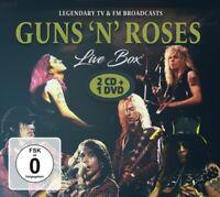 GUNS N' ROSES - ROCK BOX  9 CD+DVD NEU