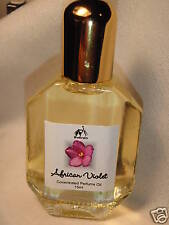 AFRICAN VIOLET Exotic Perfume Oil by Sukran ~15ml~