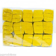 YELLOW SNOWSTORM IN CHINA Magic Trick Tissue Paper Confetti Snow 16 Load Pack