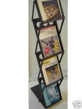 4 Magazine Racks for Trade Show Literature Brochure Display