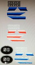 SUZUKI TS50 TS50ER DECAL SET 2