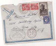 1940 France Concentration Internment Camp de Gurs prisoner Cover to USA Makler