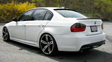 BMW E90 3 Series ABS Euro Rear Trunk Boot Spoiler Lip Wing Sport Trim Lid M M3