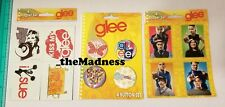 NEW LOT GLEE MAGNETS STICKERS BUTTONS PINBACKS