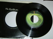 "The Beatles: ""Get Back"" / ""Don't Let Me Down"" - '69 Jacksonville pressing - EX!"