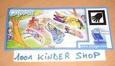 KINDER GOMOVE DC074 DC075 DC076 DC077 WURFSPIELE - SET + BPZ
