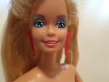 Barbie & the Rockers 1986 Babie. Nude w earrings & ring as pictured. MATTEL.