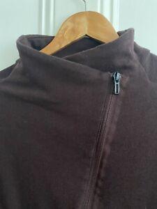 Adidas Zipped Sweatshirt Size S Maroon