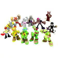 Turtles Figures Toys Teenage Mutant Ninja TMNT Action 5cm - 6cm - 12 Pcs