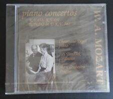 W.A. MOZART Piano Concertos CD Engel Tomasek Stern NEW Free Ship 2001 Sealed