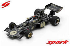 "S7127 Spark:1/43 Lotus 72E #1 Winner Spainish GP 1973 Emerson Fittipaldi  ""JPS"""