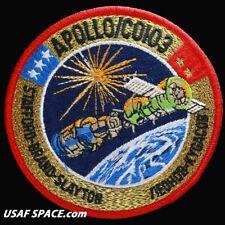 """APOLLO SOYUZ - Official NASA - ORIGINAL AB Emblem 4"""" SPACE Mission PATCH - MINT"""
