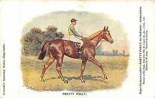 POSTCARD  SPORT  HORSE  RACING  FAMOUS  RACEHORSES   PRETTY  POLLY