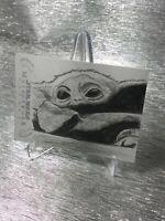 Star Wars Masterwork Baby Yoda aka GROGU Sketch Card from Disney Mandalorian
