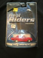 NEW HOT WHEELS REAL RIDERS FORD THUNDERBOLT LIMITED EDITION FACTORY SEALED