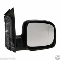 VW CADDY 2004-2010  MANUAL  DOOR WING MIRROR  RH RIGHT SIDE DRIVER SIDE OFF O/S