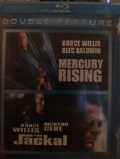 Mercury Rising/The Jackal (Blu-ray Disc, 2011) Bruce Willis Double Feature