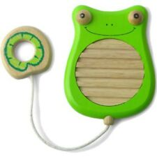I'm Toy Scratchy Frog WoodenChild's Musical Toy
