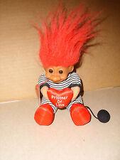 """Troll Doll 6"""" Russ Plush Prisoner of Love Vinyl Face Soft Body NWT"""