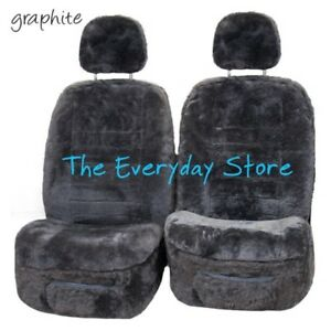 MG MG6 All Year Genuine Sheepskin Car Seat Cover Pair 22MM TC Airbag Safe