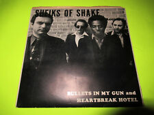 "SHEIKS OF SHAKE - BULLETS IN MY GUN 7"" 45 MYSTIC PRIVATE PRESS AOR ROCK KBD"