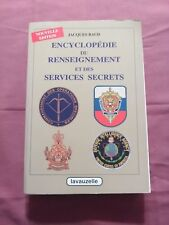 ENCYCLOPÉDIE DU RENSEIGNEMENT & DES SERVICES SECRETS - J. BAUD - ÉD. LAVAUZELLE