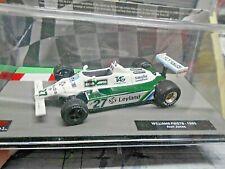 F1 WILLIAMS Ford FW07B FW 07 1980 #27 Jones Leyland Sonderpreis IXO Altaya 1:43