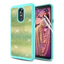 LG Stylo 4 Glitter Case, LG Q Stylus Case, LG Stylo 4 Plus Case with HD Screen P