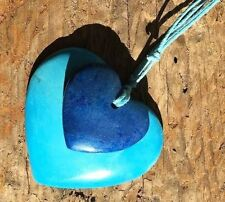 Heart Turquoise Stone Costume Necklaces & Pendants
