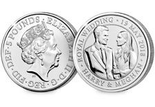 2018 UK Royal Wedding CERTIFIED BU £5 [Ref H5BUC034]