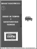 Manual de Características técnicas de Seat 133 (En CD) Workshop Reparation.